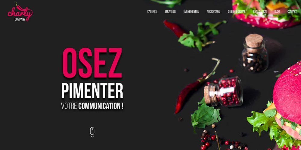 Creation de site internet chary company